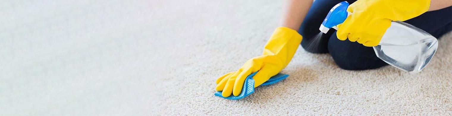 تمیز کردن لکه های مختلف از روی فرش