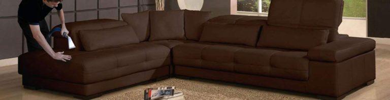Wash the sofa with carpet shampoo