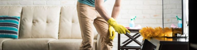 Dust removal at home